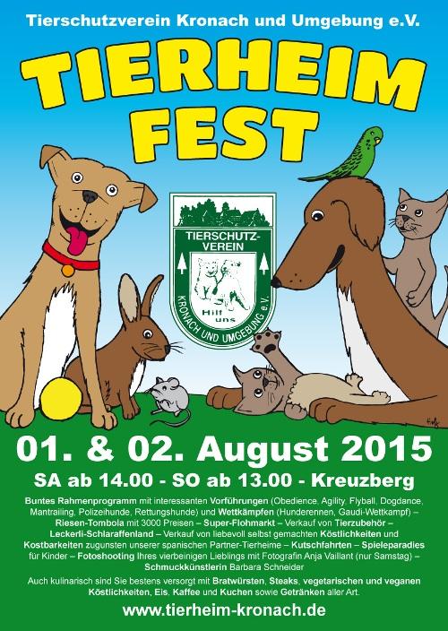 Kopie von Plakat Tierheimfest 2015