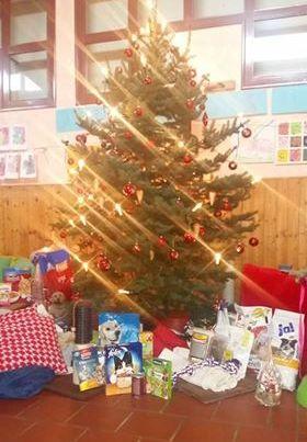 Spende Kindergarten Unterrodach 22.12.16
